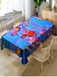 Jellyfish Pattern Table Cloth -