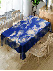 Jellyfish Printed Table Cloth -