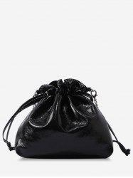 String Minimalist Dazzling Crossbody Bag with Chain -