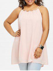 Plus Size Flowy Strappy Tank Top -