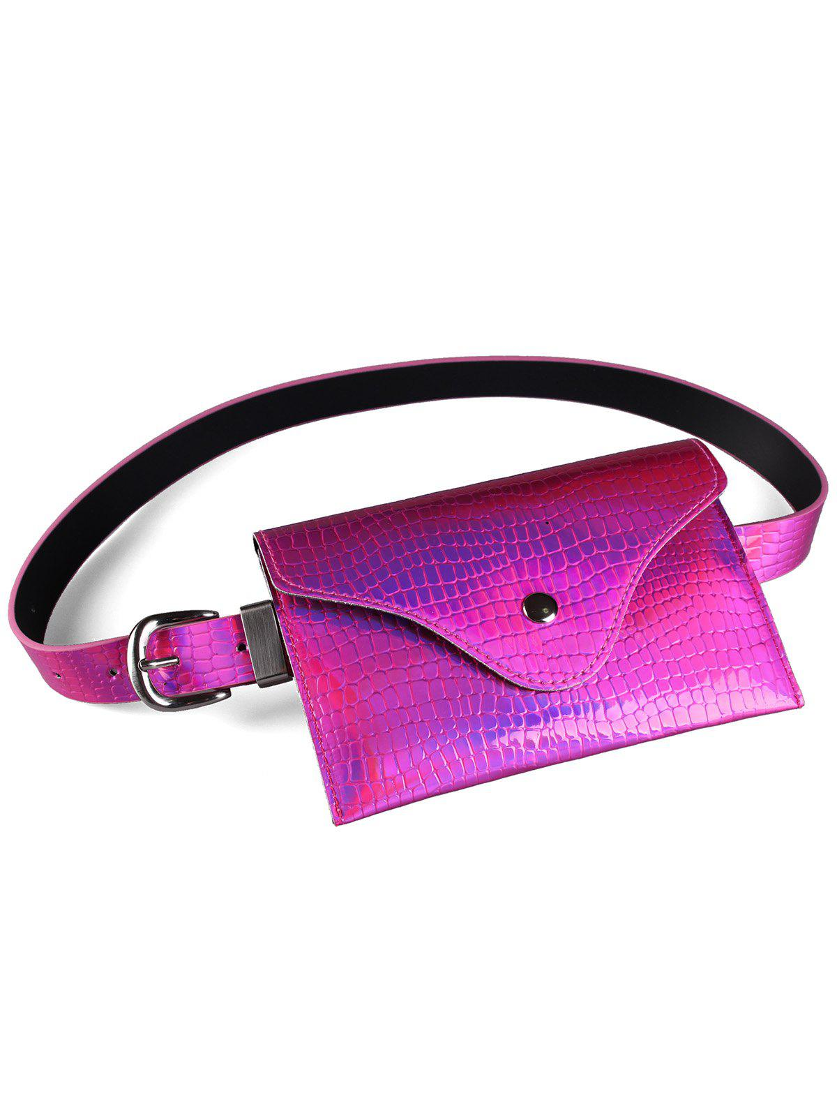 Buy Fanny Pack Decorative Glossy Belt Bag