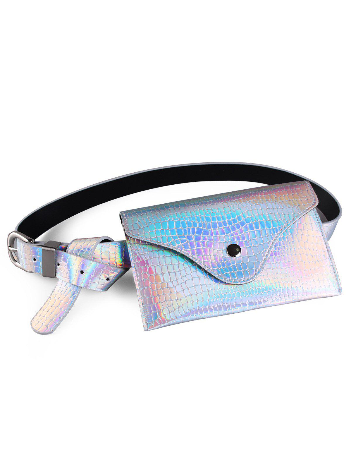 Best Fanny Pack Decorative Glossy Belt Bag