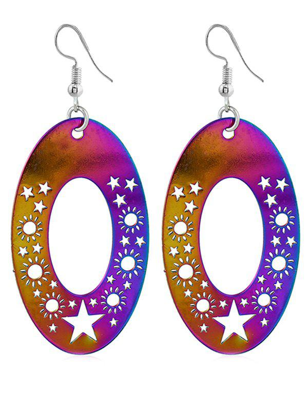 Best Vintage Star Sun Decorative Hook Earrings