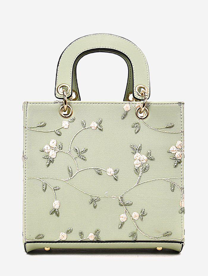 Chic Refresh Flower Decorated Lace Handbag