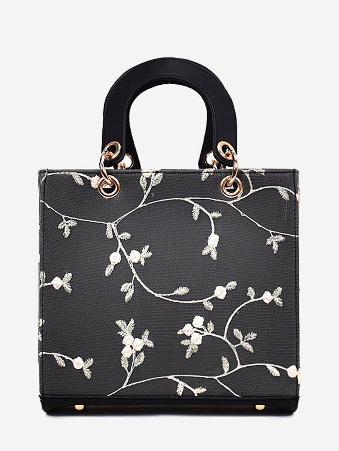 Cheap Refresh Flower Decorated Lace Handbag