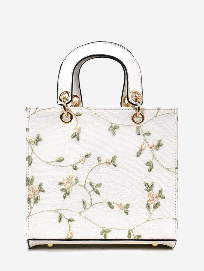 Outfit Refresh Flower Decorated Lace Handbag