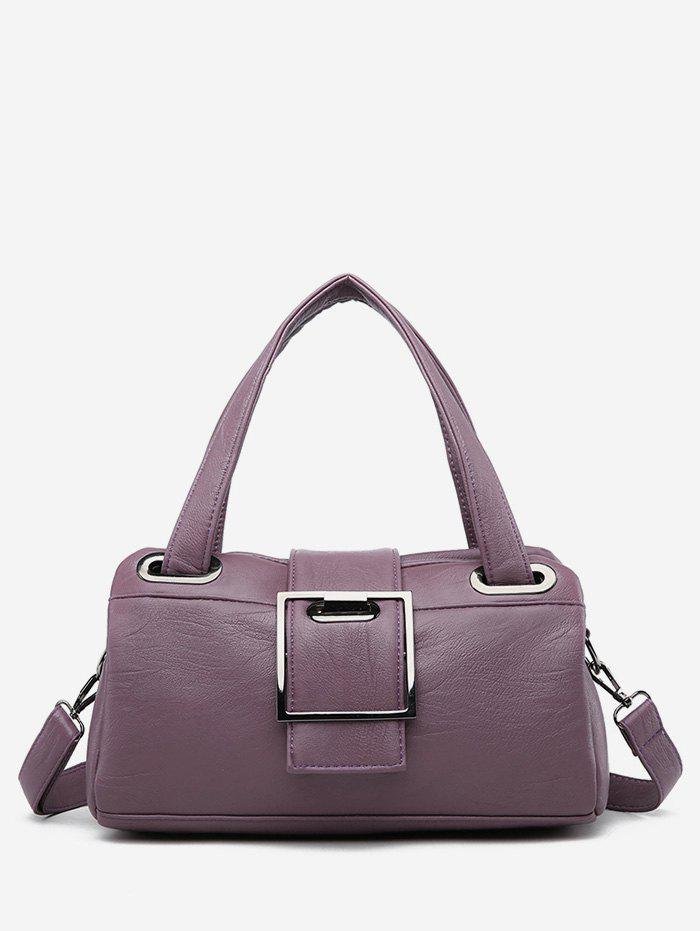 Chic PU Leather Minimalist Large Capacity Tote Bag
