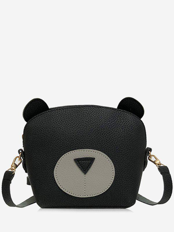 Sale Chic Contrasting Color Critter Pattern Mini Crossbody Bag