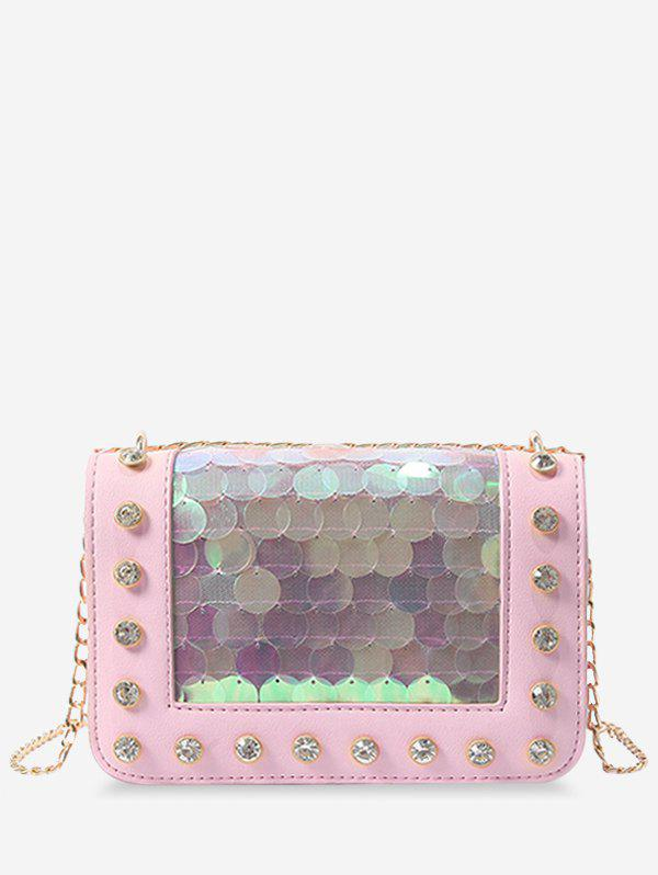 Best Dazzling Sequins Crystals Chain Sling Bag