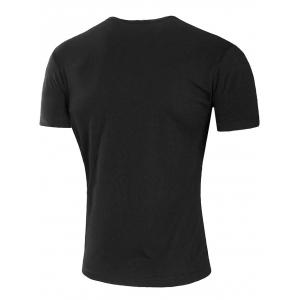 Round Neck Earth Fist T-shirt -