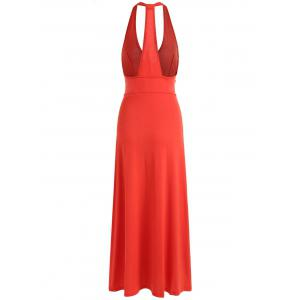 Racerback Low Cut Maxi Dress -