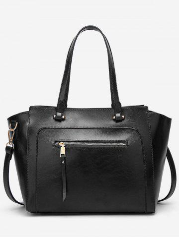 Affordable Leisure Vacation PU Leather Minimalist Tote Bag