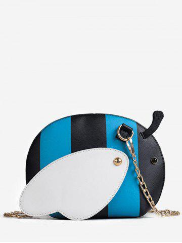 Shops Color Block Chain Critters Shaped Sling Bag