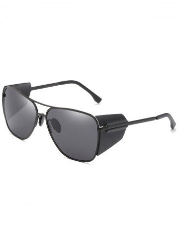 Affordable Crossbar Decorative Frog Mirror Oversized Sunglasses