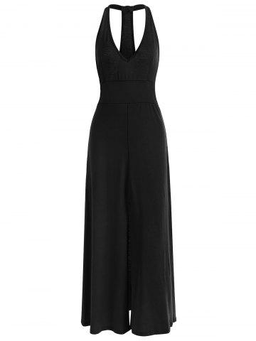 Outfits Racerback Low Cut Maxi Dress