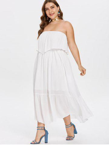 Strapless Summer Beach Dress Free Shipping Discount And Cheap