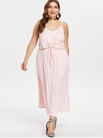 Fashion Plus Size Midi Cami Dress