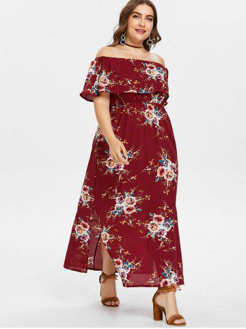 0e83a4df019 Plus Size Bohemian Maxi Dresses - V Neck