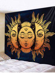 Sun Pattern Tapestry Wall Hanging Decor -