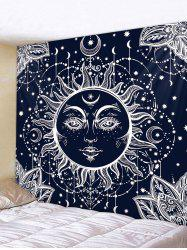 Sun Moon Pattern Tapestry Wall Hanging Decor -