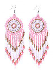 Dreamcatcher Design Beads Tassel Earrings -