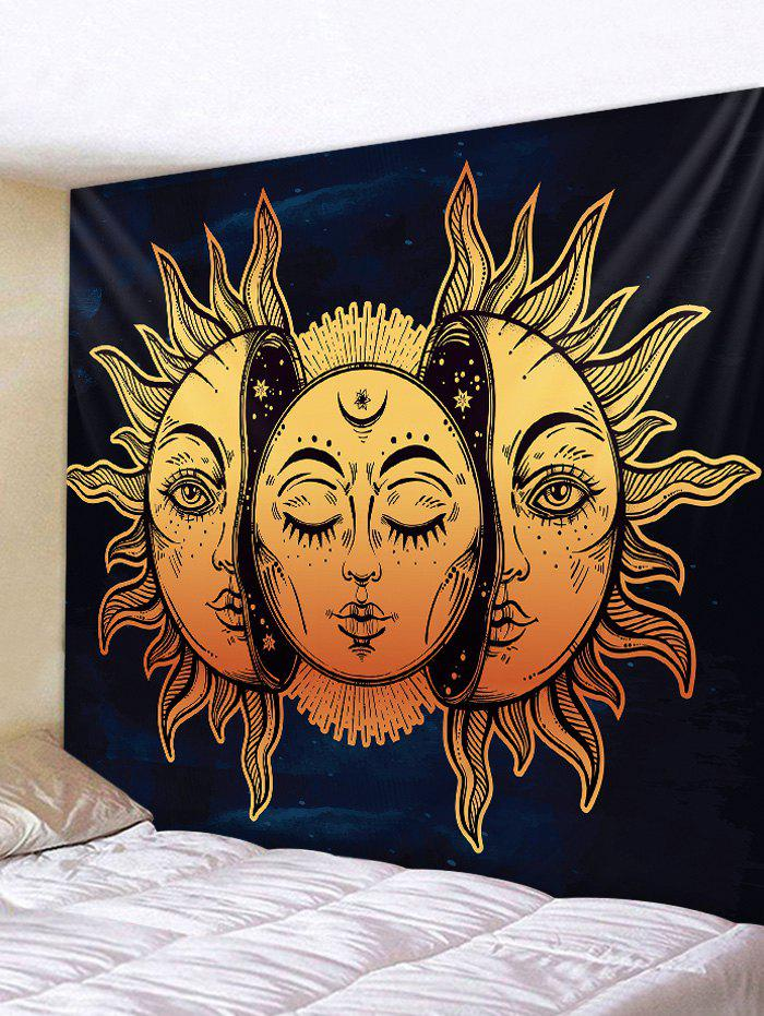 Chic Sun Pattern Tapestry Wall Hanging Decor