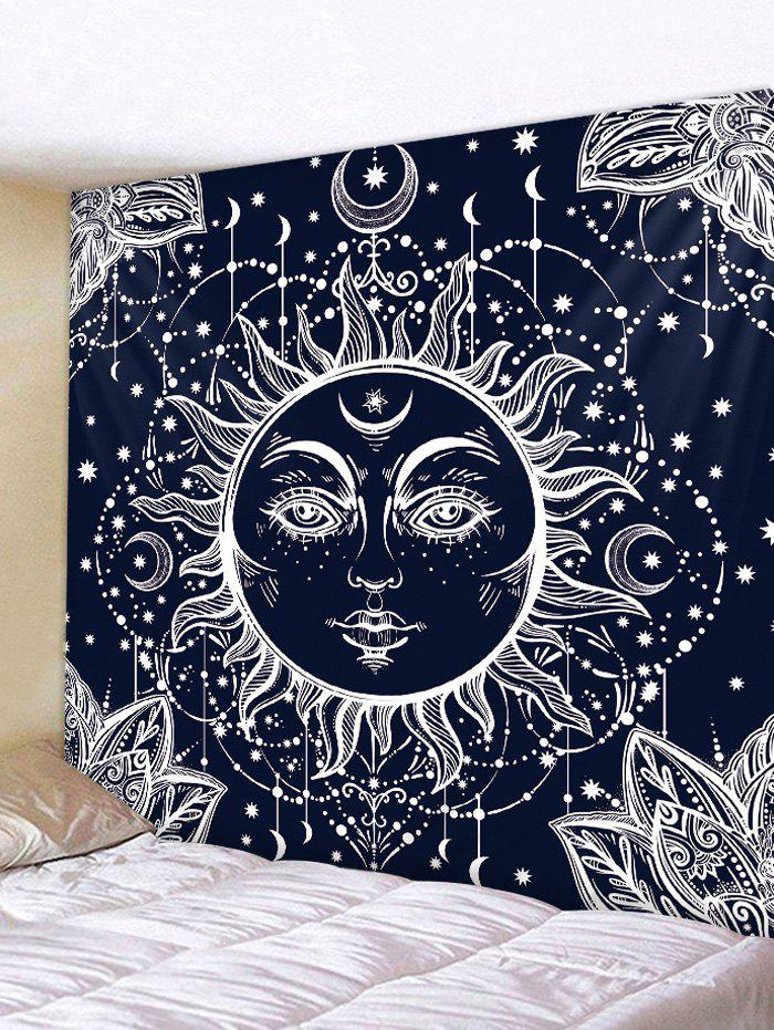 Shops Sun Moon Pattern Tapestry Wall Hanging Decor