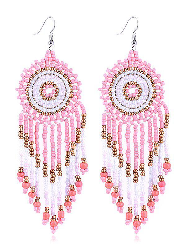 Sale Dreamcatcher Design Beads Tassel Earrings