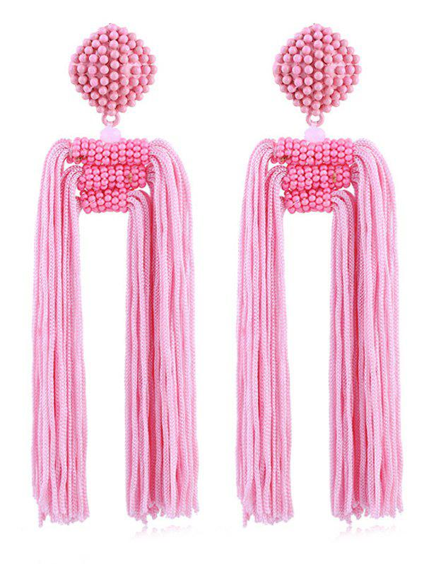 New Beads Decoration Tassel Design Earrings