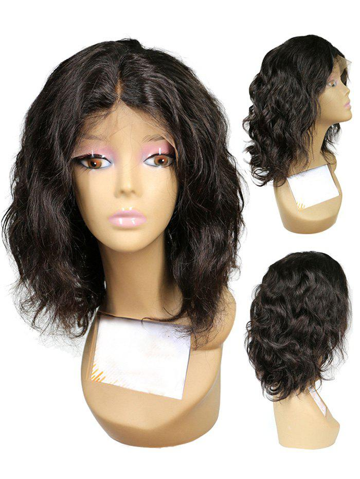Trendy Short Middle Part Wavy Synthetic Lace Front Wig