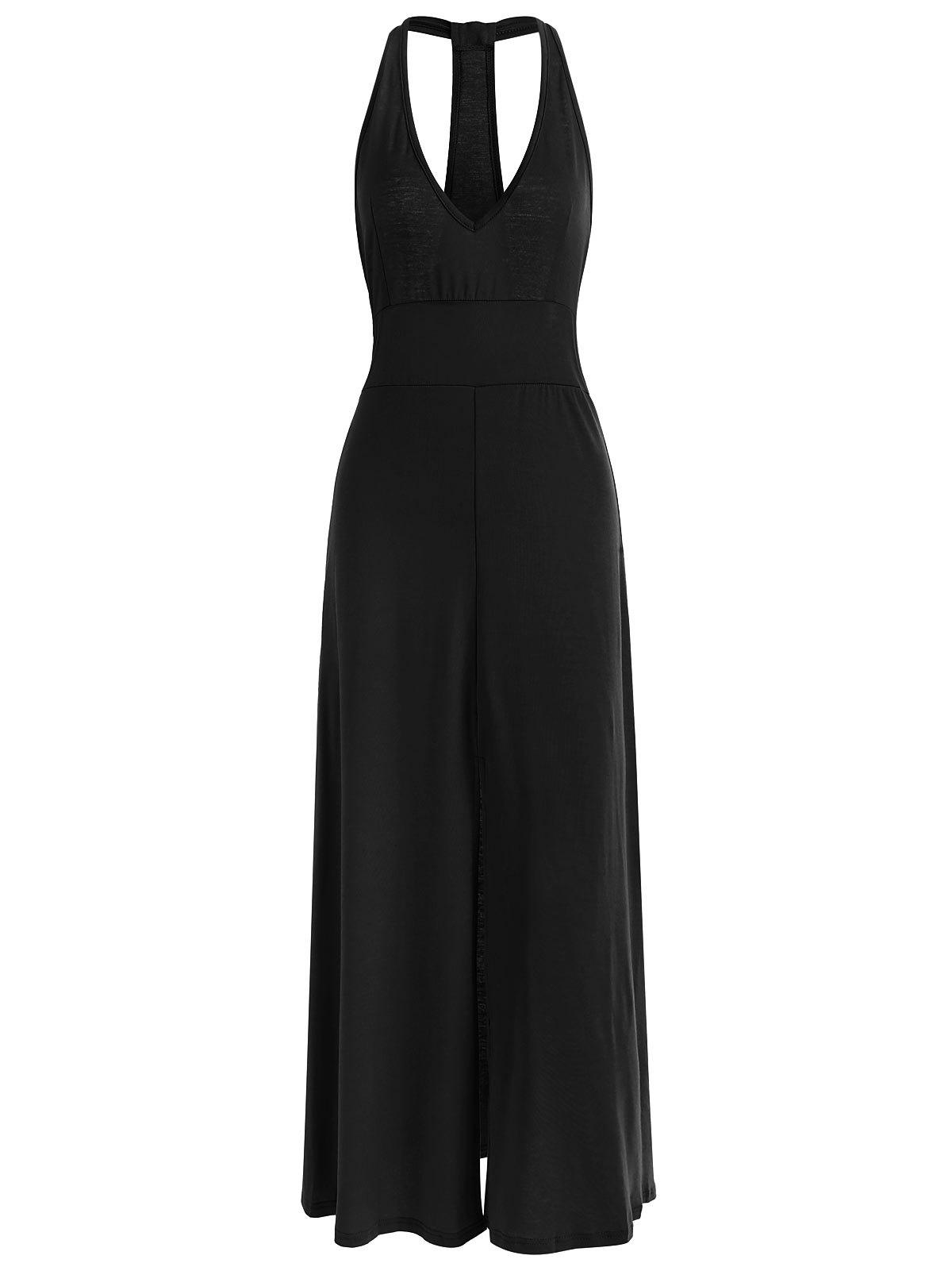 Outfit Racerback Low Cut Maxi Dress