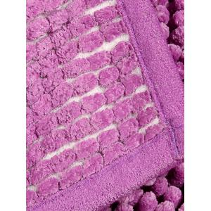 Water Absorbing Fluffy Chenille Bathroom Mat -