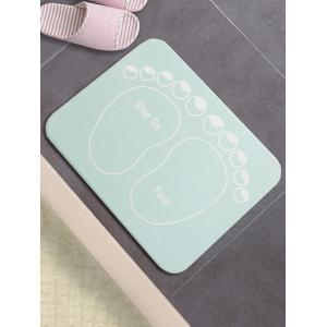 Water Absorption Diatomite Bath Mat -