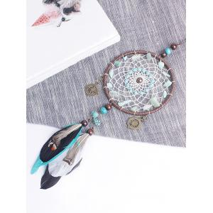 Beads Feathers Handmade Wall Hanging Dreamcatcher -
