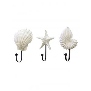 Coquillages en forme de coquille Starfish Shell 3PCS Set -