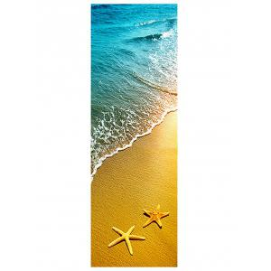 Beach Starfish Print DIY Fridge Sticker -
