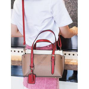 Leisure Trip Functional Color Block Shoulder Bag -