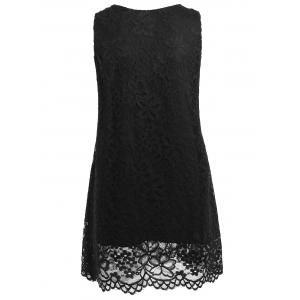 Lace Criss Cross Tank Top -