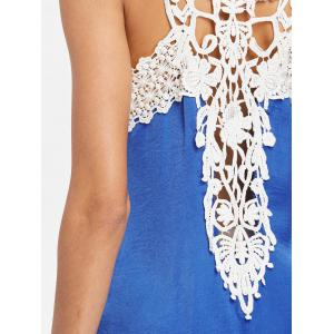 Applique Sleeveless Shift Dress -