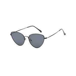 Vintage Metal Full Frame Catty Sunglasses -