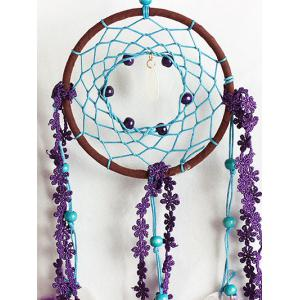 Beads Fabric Feathers Dreamcatcher Hanging Craft -