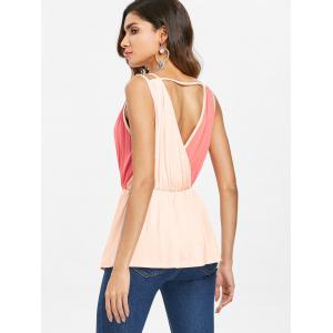 Low Cut Back Cut Out Top -