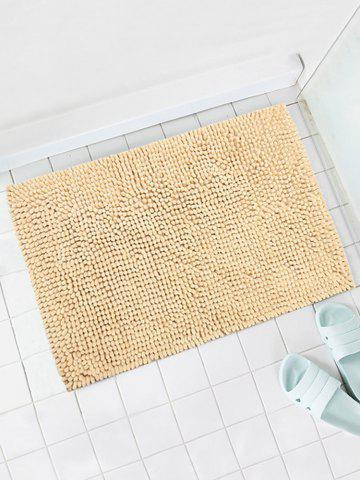 Store Anti-skid Water Absorption Chenille Bathroom Mat