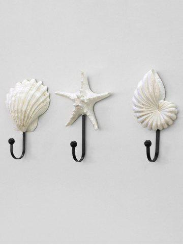 Coquillages en forme de coquille Starfish Shell 3PCS Set
