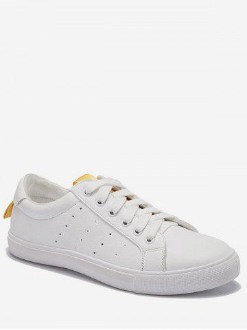 Store Lace Up Low Heel Leisure Outdoor Sneakers