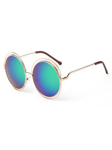 Best Unique Hollow Out Frame Round Sunglasses