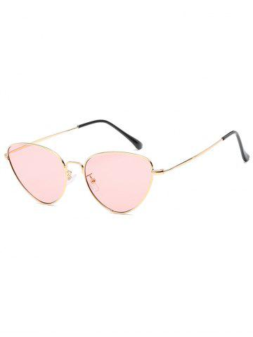 Affordable Vintage Metal Full Frame Catty Sunglasses