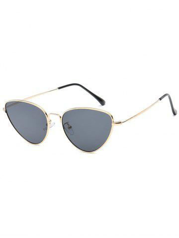 Chic Vintage Metal Full Frame Catty Sunglasses