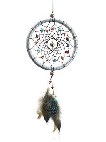 Store Handmade Feathers Stones Dreamcatcher Wall Hanging