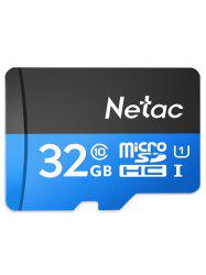 Carte mémoire flash haute vitesse Netac P500 Micro SDHC 32GB -